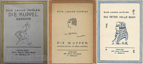 Một số tác phẩm nổi tiếng của Else Lasker-Schüler