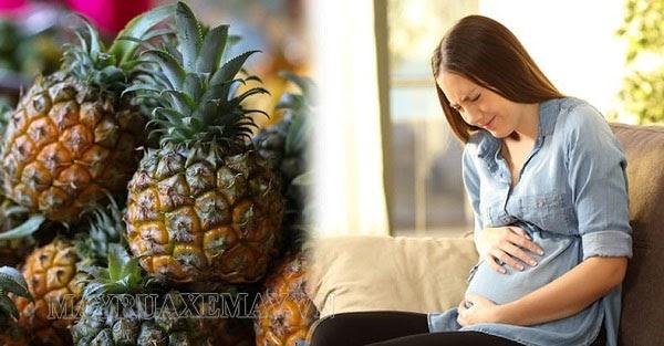 ăn dứa cung cấp dinh dưỡng cho bà bầu