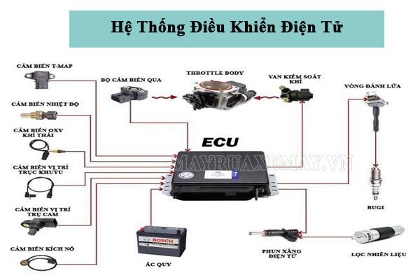 ECU là gì? Cấu tạo, nguyên lý & vai trò quan trọng đối với ô tô, xe máy
