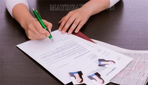 trình độ chuyên môn trong đơn xin việc