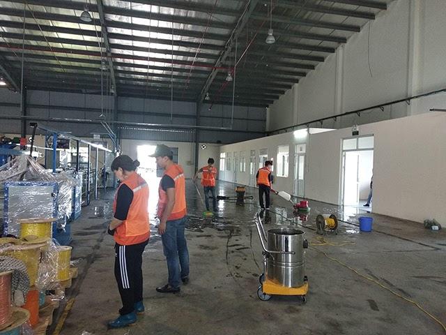 Công tác làm sạch tại Làm sạch công nghiệp 5S