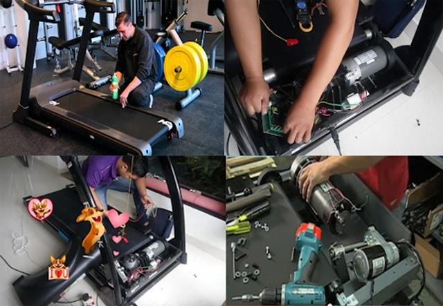 Kiểm tra và bảo trì cho máy chạy bộ thường xuyên