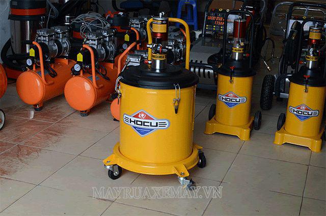 Máy bơm mỡ khí nén Kocu được rất nhiều người tin dùng