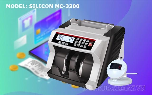 máy đếm tiền silicon mc 3300
