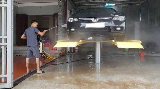 Địa chỉ mua cầu nâng  rửa xe 1 trụ cũ chất lượng