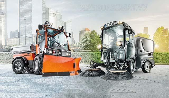 Xe quét rác công nghiệp Karcher- thiết bị dọn vệ sinh môi trường tối ưu