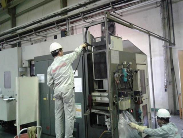 Bảo dưỡng bảo trì máy thường xuyên theo định kỳ