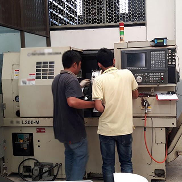 Kiểm tra máy thường xuyên theo định kỳ để máy vận hành hiệu quả